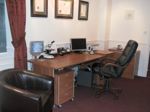 Trichology consulting room