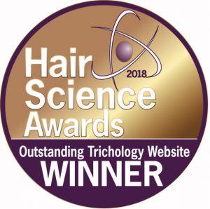 Hair Science Awards Winner Logo
